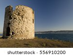 ruins of the ancient ancient... | Shutterstock . vector #556910200