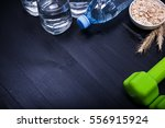 concept frame for drinking pure ...   Shutterstock . vector #556915924