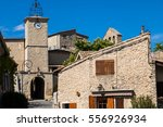 village of lurs in provence ... | Shutterstock . vector #556926934