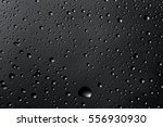 water drops on the glass close... | Shutterstock . vector #556930930