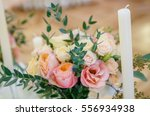 wedding decor  floral  wedding... | Shutterstock . vector #556934938