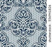 vintage ornamental background ... | Shutterstock .eps vector #556941826