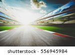 view of the infinity empty... | Shutterstock . vector #556945984