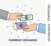 currency exchange  foreign... | Shutterstock .eps vector #556949266