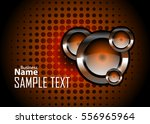 orange abstract template for... | Shutterstock .eps vector #556965964