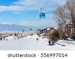 bansko  bulgaria   january 13 ... | Shutterstock . vector #556997014