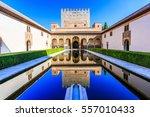 alhambra  granada  spain. the...   Shutterstock . vector #557010433