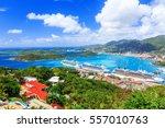 st. thomas  usvi. heavensight... | Shutterstock . vector #557010763