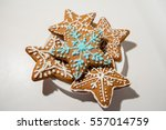 christmas cookies   Shutterstock . vector #557014759