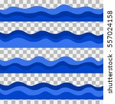 waves  icons. vector... | Shutterstock .eps vector #557024158
