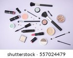 a collection of make up and... | Shutterstock . vector #557024479