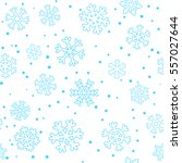 seamless winter christmas... | Shutterstock .eps vector #557027644