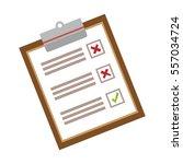 checklist with square cases...