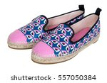 women s espadrilles with... | Shutterstock . vector #557050384