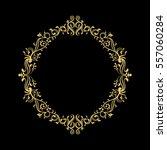 elegant circular classic... | Shutterstock .eps vector #557060284