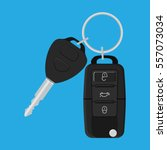 car key and of the alarm system.... | Shutterstock .eps vector #557073034