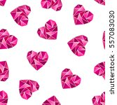 triangle heart shape symbol...   Shutterstock . vector #557083030