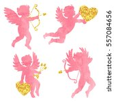 set of watercolor angels. cute...