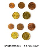 Euro Cent Coins  Set Of Coins...