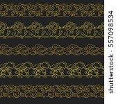 set of horizontal seamless...   Shutterstock .eps vector #557098534