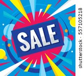 sale   business banner creative ... | Shutterstock .eps vector #557105218