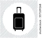 travelig bag vector icon  ... | Shutterstock .eps vector #557109268