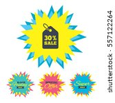 sale stickers and banners. 30 ...   Shutterstock .eps vector #557122264