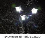 night mode. burn bright bulb in ... | Shutterstock . vector #557122630