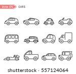 car icon | Shutterstock .eps vector #557124064