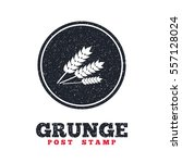 grunge post stamp. circle...   Shutterstock .eps vector #557128024