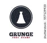 grunge post stamp. circle...   Shutterstock .eps vector #557129920