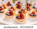 catering food wedding  line... | Shutterstock . vector #557134519