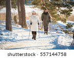 winter sport in finland  ... | Shutterstock . vector #557144758