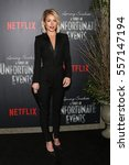 "Small photo of NEW YORK-JAN 11: Kelly Ripa attends the world premiere screening of NETFLIX's Lemony Snicket's ""A Series of Unfortunate Events"" at AMC Loews Lincoln 13 Theater on January 11, 2017 in New York City."