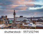 grey's monument in newcastle... | Shutterstock . vector #557152744