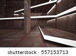 empty abstract room interior of ... | Shutterstock . vector #557153713