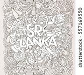 sri lanka country hand...   Shutterstock .eps vector #557169550
