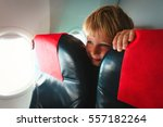 kids travel  cute little boy in ... | Shutterstock . vector #557182264