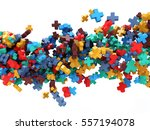 colorful plus signs   abstract... | Shutterstock . vector #557194078