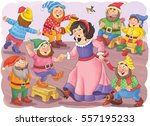 The Snow White And Seven Dwarf...