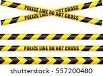 illustration of police tape line   Shutterstock .eps vector #557200480