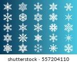 snowflake vector icon... | Shutterstock .eps vector #557204110