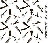 barber shop or hairdresser...   Shutterstock .eps vector #557204734