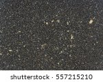 close up of raw crushed coffee... | Shutterstock . vector #557215210