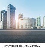 building in pudong  lujiazui ... | Shutterstock . vector #557250820