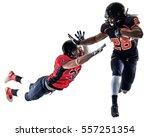 american football players men... | Shutterstock . vector #557251354