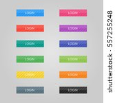 set of colored buttons. web... | Shutterstock .eps vector #557255248