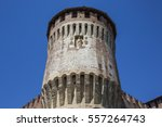 tower of medieval italian... | Shutterstock . vector #557264743