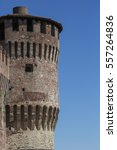 tower of medieval italian... | Shutterstock . vector #557264836