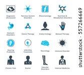 health conditions   diseases... | Shutterstock .eps vector #557266669